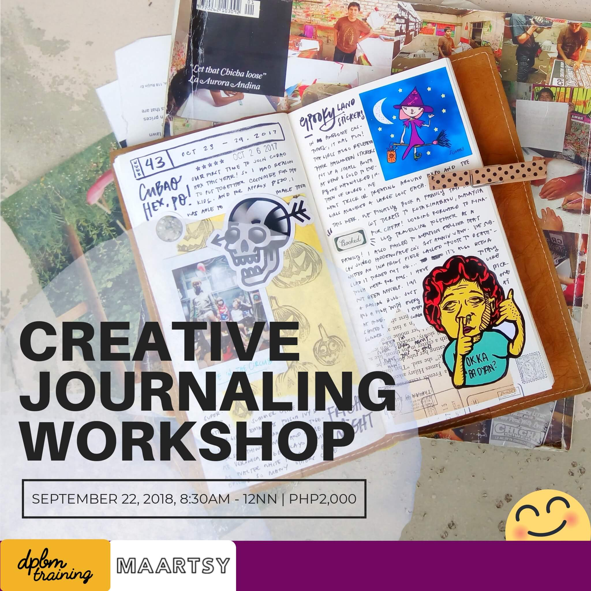 129fa1143e Creative Journaling Workshop – MAARTSY.COM