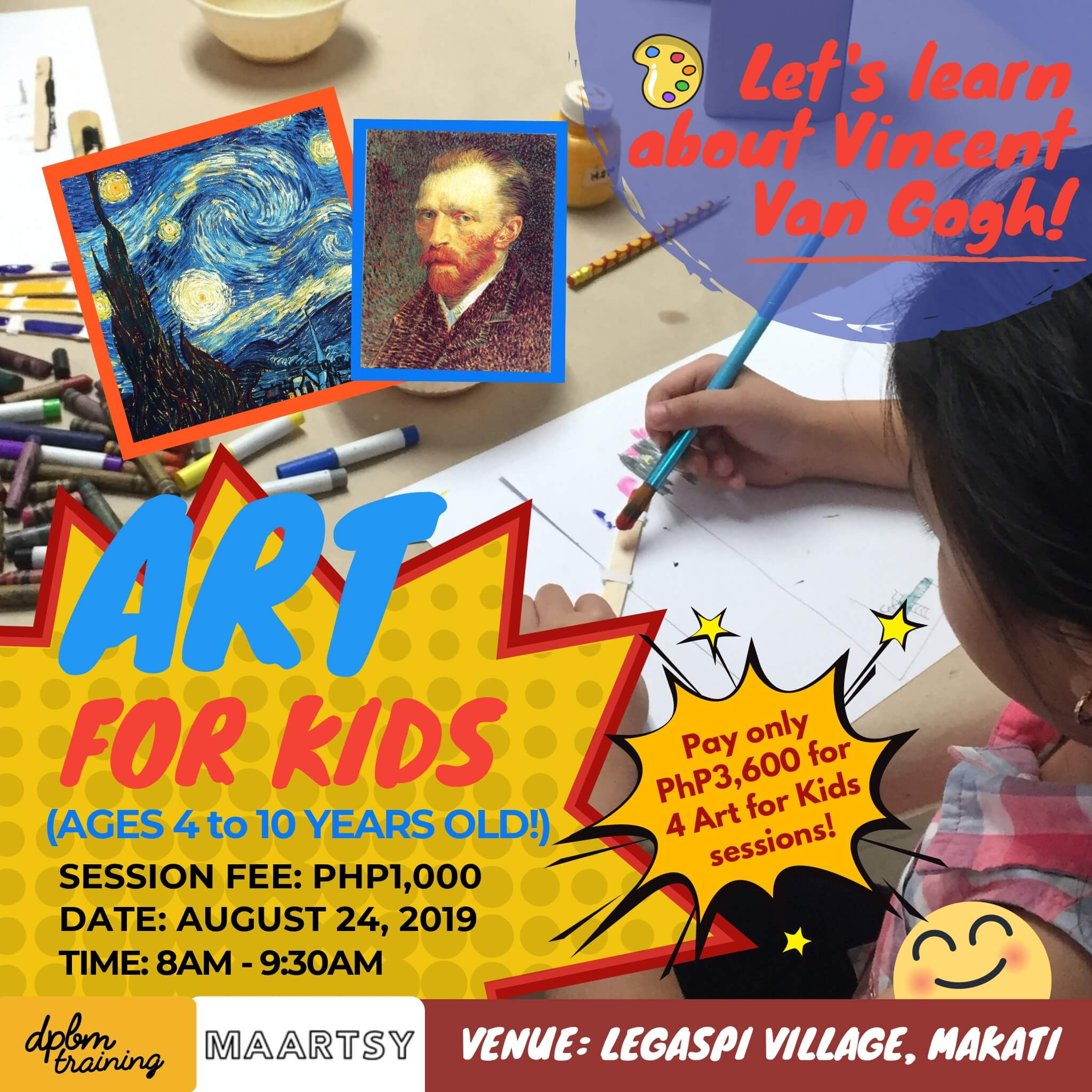 MAARTSY Offers Arts & Crafts Workshops That Are Exclusive for Children