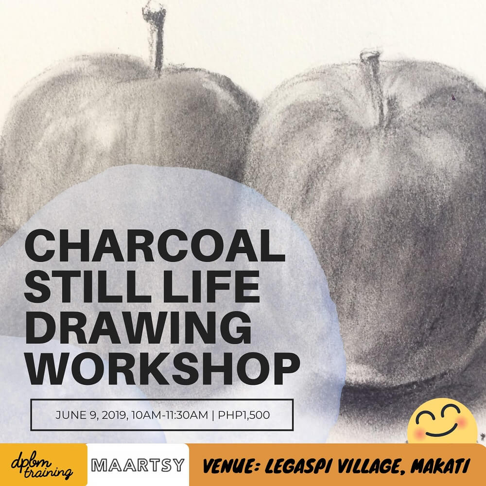 Charcoal Still Life Drawing Workshop - MAARTSY COM