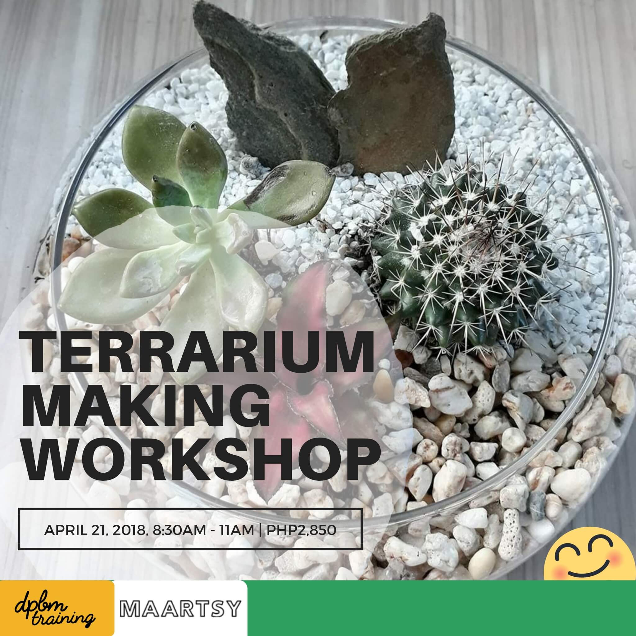 Terrarium Making Workshop Maartsy Com
